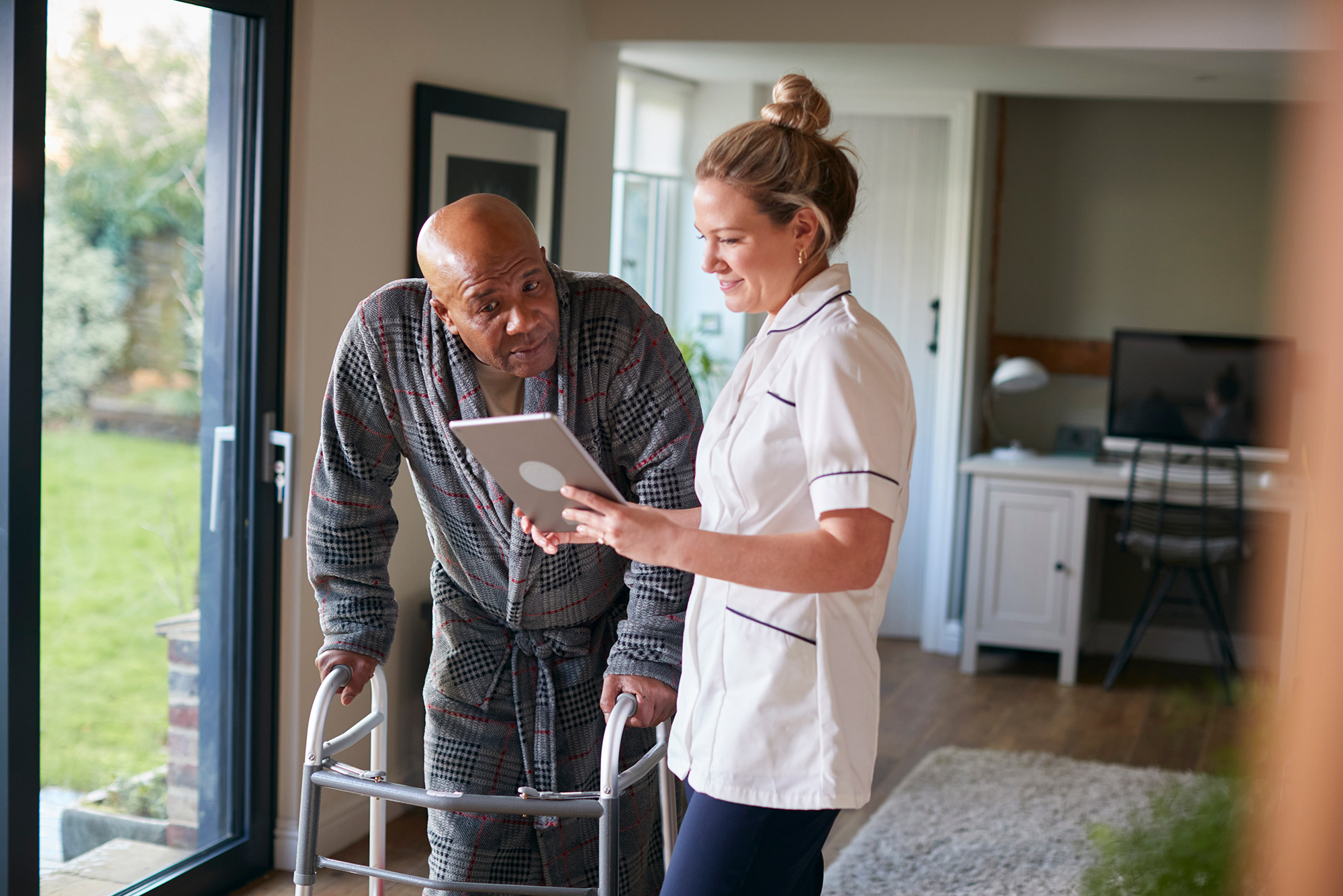 Is technology the health care solution for the elderly?